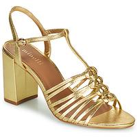 Παπούτσια Γυναίκα Σανδάλια / Πέδιλα Minelli THERENA Gold