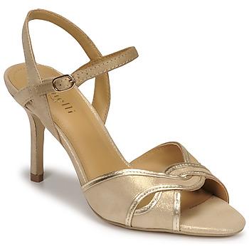 Παπούτσια Γυναίκα Σανδάλια / Πέδιλα Minelli PHILOMENE Gold