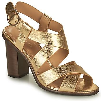 Παπούτσια Γυναίκα Σανδάλια / Πέδιλα Minelli THIYA Gold