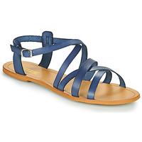 Παπούτσια Γυναίκα Σανδάλια / Πέδιλα So Size IDITRON Marine