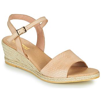 Παπούτσια Γυναίκα Σανδάλια / Πέδιλα So Size OTTECA Beige