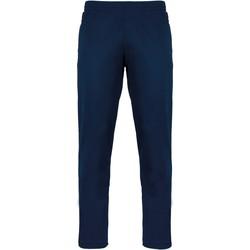 Υφασμάτινα Φόρμες Proact Pantalon de survêtement bleu marine