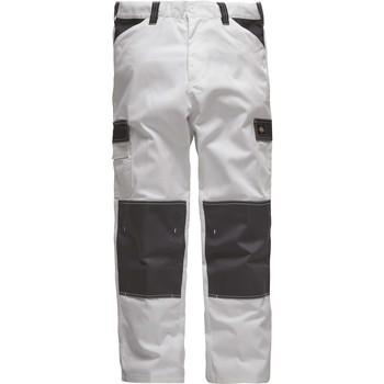 Υφασμάτινα Άνδρας παντελόνι παραλλαγής Dickies Pantalon  Everyday blanc/gris