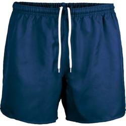 Υφασμάτινα Σόρτς / Βερμούδες Proact Short Praoct Rugby bleu royal/bleu