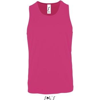 Υφασμάτινα Άνδρας T-shirt με κοντά μανίκια Sol's T-shirt  Sporty Tt rose fluo