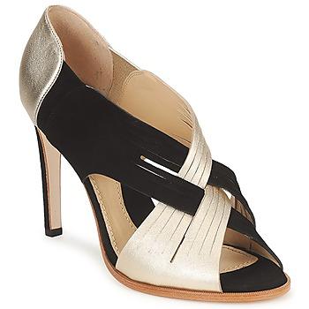 Παπούτσια Γυναίκα Γόβες Moschino MINEK Black / Gold
