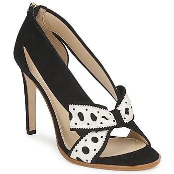 Παπούτσια Γυναίκα Γόβες Moschino DELOS ESCA Black / Ivory