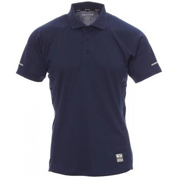 Υφασμάτινα Άνδρας Πόλο με κοντά μανίκια  Payper Wear Polo Payper Training bleu marine