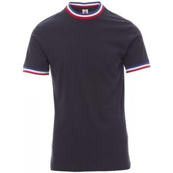 Υφασμάτινα Άνδρας T-shirt με κοντά μανίκια Payper Wear T-shirt Payper Flag bleu roi/italie
