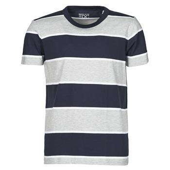 Υφασμάτινα Άνδρας T-shirt με κοντά μανίκια Esprit T-SHIRTS Μπλέ
