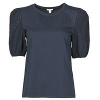 Υφασμάτινα Γυναίκα T-shirt με κοντά μανίκια Esprit T-SHIRTS Black