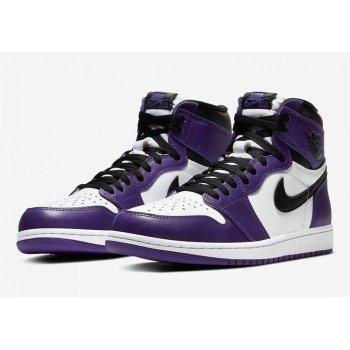 Παπούτσια Ψηλά Sneakers Nike Air Jordan 1 Court Purple 2.0 Court Purple/White-Black