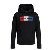 Υφασμάτινα Αγόρι Φούτερ Jack & Jones JJECORP LOGO PLAY SWEAT Black