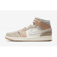 Παπούτσια Ψηλά Sneakers Nike Air Jordan 1 Mid Milan Sail/Light Bone-String-Shimmer