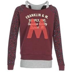 Υφασμάτινα Γυναίκα Φούτερ Franklin & Marshall MANTECO Bordeaux / Grey