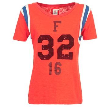 Υφασμάτινα Γυναίκα T-shirt με κοντά μανίκια Franklin & Marshall POINTO Corail
