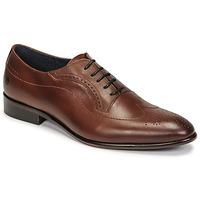 Παπούτσια Άνδρας Richelieu Carlington OULIO Cognac