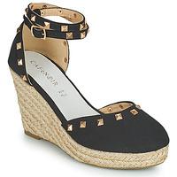 Παπούτσια Γυναίκα Σανδάλια / Πέδιλα Café Noir NOEL Black