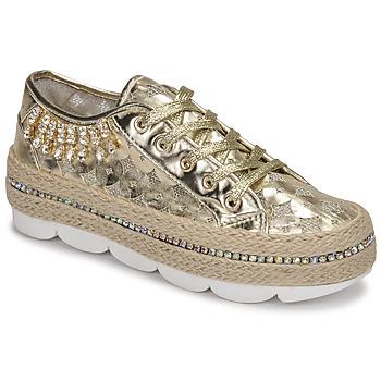 Παπούτσια Γυναίκα Χαμηλά Sneakers Café Noir KINITA Gold