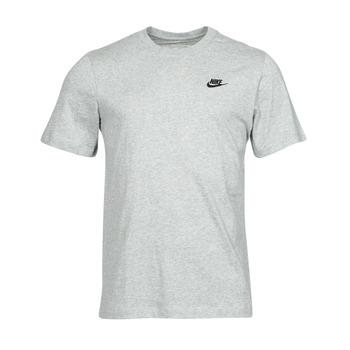 Υφασμάτινα Άνδρας T-shirt με κοντά μανίκια Nike NSCLUB TEE Grey / Black