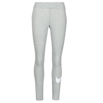 Υφασμάτινα Γυναίκα Κολάν Nike NSESSNTL GX MR LGGNG SWSH Grey / Άσπρο