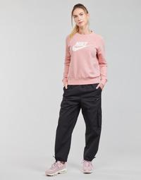 Υφασμάτινα Γυναίκα Φόρμες Nike NSICN CLASH PANT CANVAS HR Black / Grey