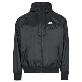 Υφασμάτινα Άνδρας Αντιανεμικά Nike NSSPE WVN LND WR HD JKT Black / Άσπρο