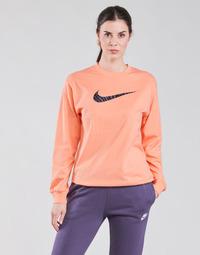 Υφασμάτινα Γυναίκα Μπλουζάκια με μακριά μανίκια Nike NSICN CLSH LS TOP HBR Ροζ / Violet