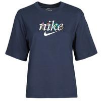 Υφασμάτινα Γυναίκα T-shirt με κοντά μανίκια Nike NSTEE BOXY NATURE Μπλέ