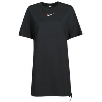 Υφασμάτινα Γυναίκα T-shirt με κοντά μανίκια Nike NSESSNTL DRESS PRNT Black