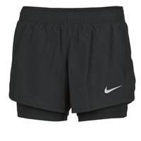 Υφασμάτινα Γυναίκα Σόρτς / Βερμούδες Nike 10K 2IN1 SHORT Black