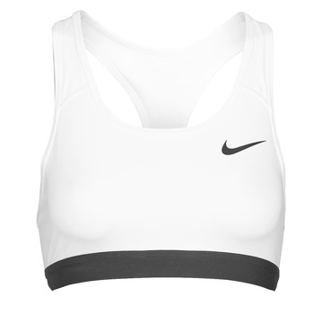 Υφασμάτινα Γυναίκα Αθλητικά μπουστάκια  Nike DF SWSH BAND NONPDED BRA Άσπρο / Black