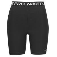 Υφασμάτινα Γυναίκα Σόρτς / Βερμούδες Nike NIKE PRO 365 SHORT 7IN HI RISE Black / Άσπρο