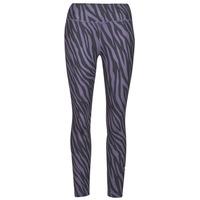 Υφασμάτινα Γυναίκα Κολάν Nike NIKE ONE 7/8 AOP TGT ICNCLSH Violet / Black