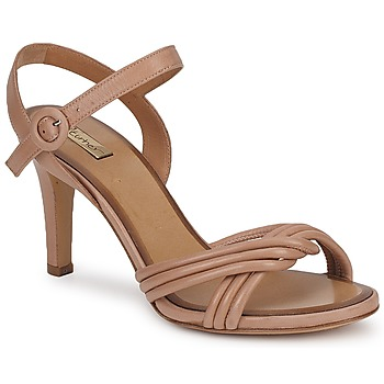 Παπούτσια Γυναίκα Σανδάλια / Πέδιλα Eva Turner  Brown / Glacé