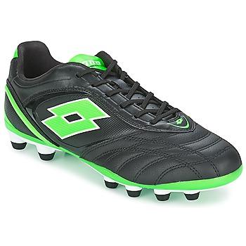 Παπούτσια Άνδρας Ποδοσφαίρου Lotto STADIO P VI 300 FG Black / Green