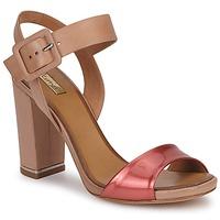 Παπούτσια Γυναίκα Σανδάλια / Πέδιλα Eva Turner  Bronze / Red
