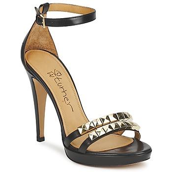 Παπούτσια Γυναίκα Σανδάλια / Πέδιλα Eva Turner  Black