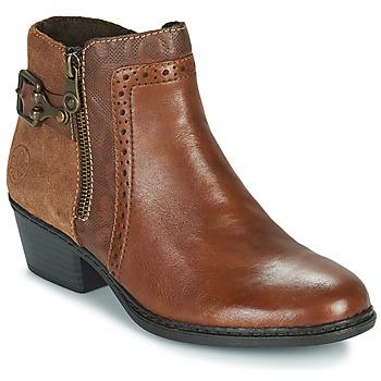 Παπούτσια Γυναίκα Μποτίνια Rieker  Brown