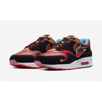 Παπούτσια Χαμηλά Sneakers Nike Air Max 1 NYC Chinatown Black/Multicolor