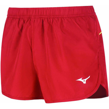 Υφασμάτινα Γυναίκα Σόρτς / Βερμούδες Mizuno Short femme  Premium JPN Split rouge/rouge