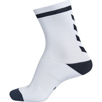 Αξεσουάρ Παιδί Κάλτσες Hummel Chaussettes  elite indoor sock low blanc/noir