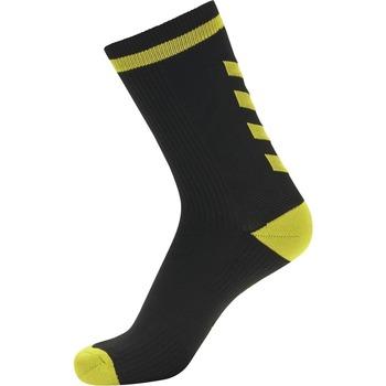 Αξεσουάρ Κάλτσες Hummel Chaussettes  Elite Indoor Low noir/jaune