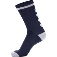 Αξεσουάρ Κάλτσες Hummel Chaussettes  Elite Indoor Low bleu marine/blanc