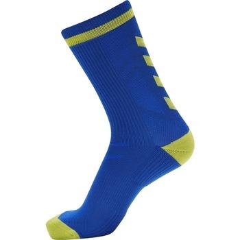 Αξεσουάρ Κάλτσες Hummel Chaussettes  Elite Indoor Low bleu foncé/jaune