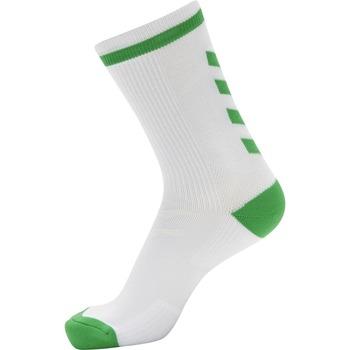 Αξεσουάρ Κάλτσες Hummel Chaussettes  Elite Indoor Low blanc/vert