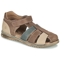Παπούτσια Αγόρι Σανδάλια / Πέδιλα Citrouille et Compagnie FRINOUI Brown