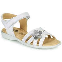 Παπούτσια Κορίτσι Σανδάλια / Πέδιλα Citrouille et Compagnie HERTUNE Άσπρο