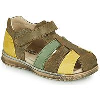 Παπούτσια Αγόρι Σανδάλια / Πέδιλα Citrouille et Compagnie FRINOUI Kaki