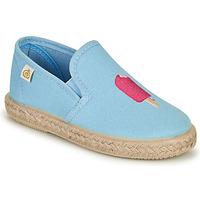 Παπούτσια Κορίτσι Μπαλαρίνες Citrouille et Compagnie OCELESTE Μπλέ / Σιελ